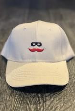 Stag GameDay Khaki Baseball Hat Mustache