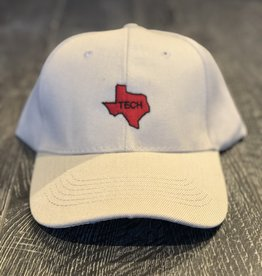 Stag GameDay Khaki Baseball Hat Red Texas State