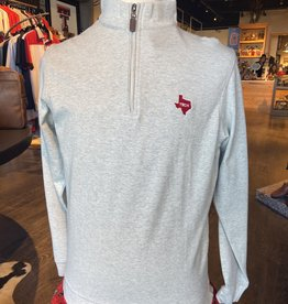 Stag GameDay Stone 1/4 Zip Pullover Texas State