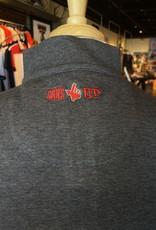 Stag GameDay Charcoal 1/4 Zip Pullover Cross Guns/Guns Up