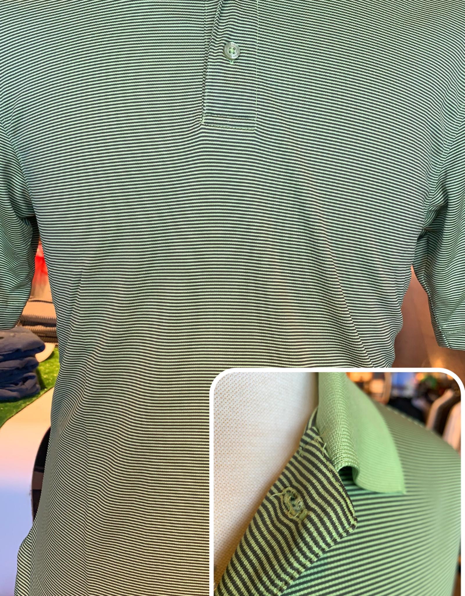 Horn Legend Horn Legend- Green Apple Stripe Polo
