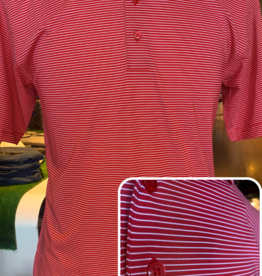 Horn Legend Red/White Stripe Polo