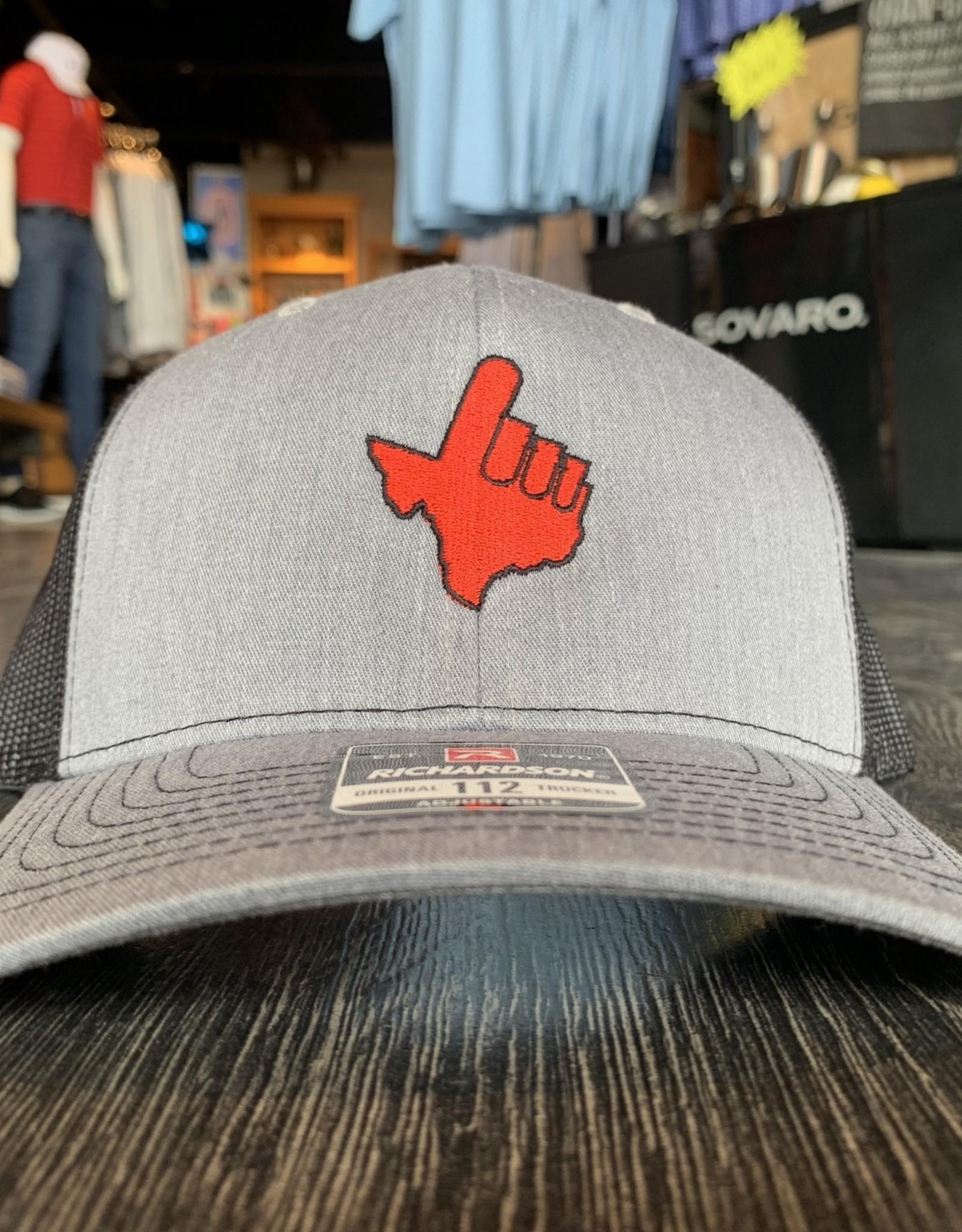 Stag GameDay Richardson 112 Grey/Black Texas Hand