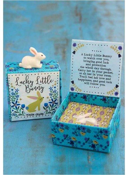 natural life natural life bunny lucky charm
