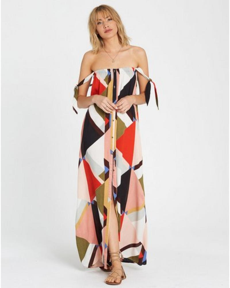 billabong billabong rainbow gate maxi dress