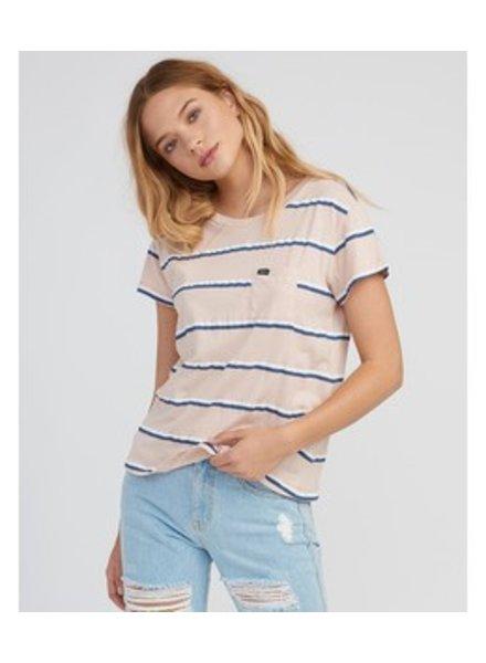 RVCA big stripe pocket t-shirt