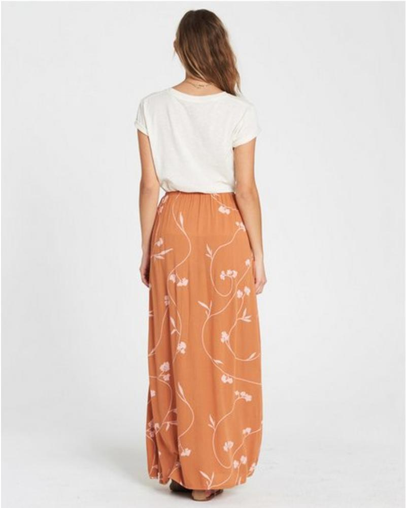 billabong billabong love trip maxi skirt