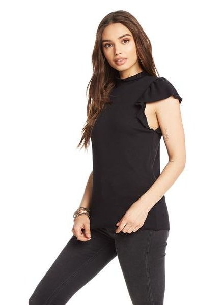 chaser mock neck tee