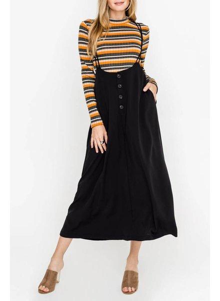 lush fletcher overall skirt