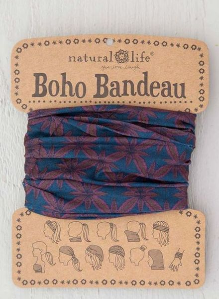 natural life navy berry bandeau