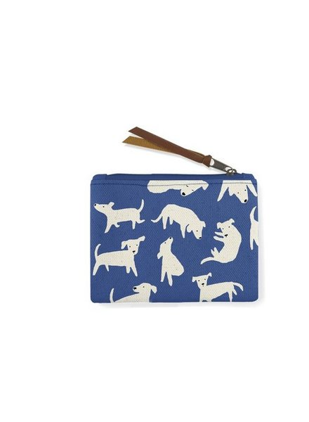 fringe studio nosey dog coin pouch