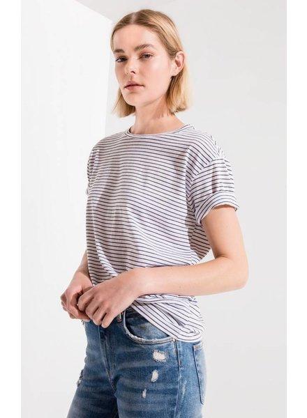 z supply striped boyfriend tee