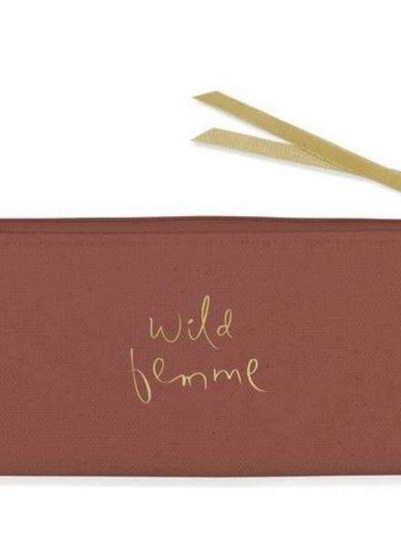 fringe studio wild femme small pouch
