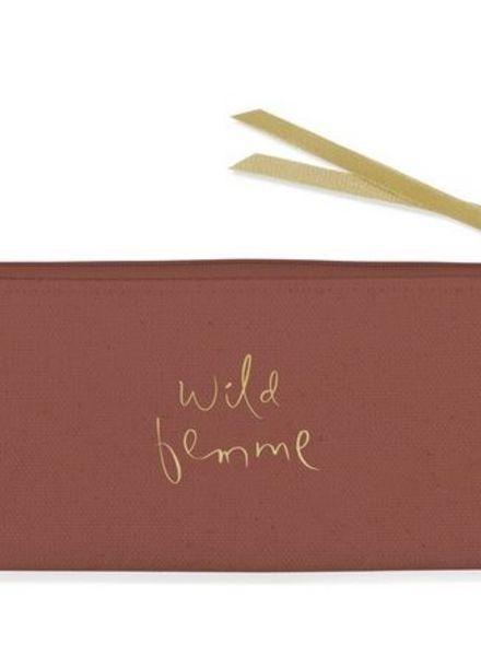 fringe studio wild femme small pouch