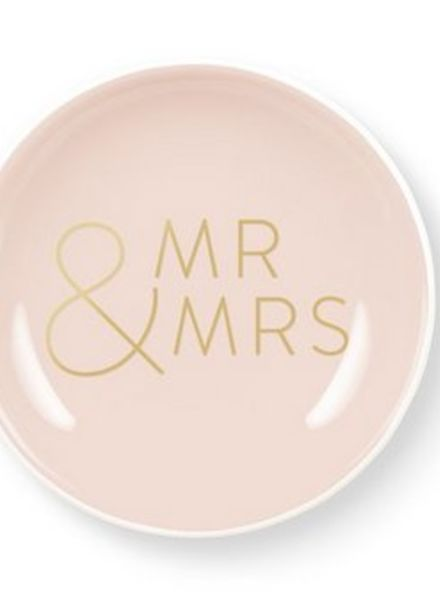 fringe studio mr & mrs mini tray