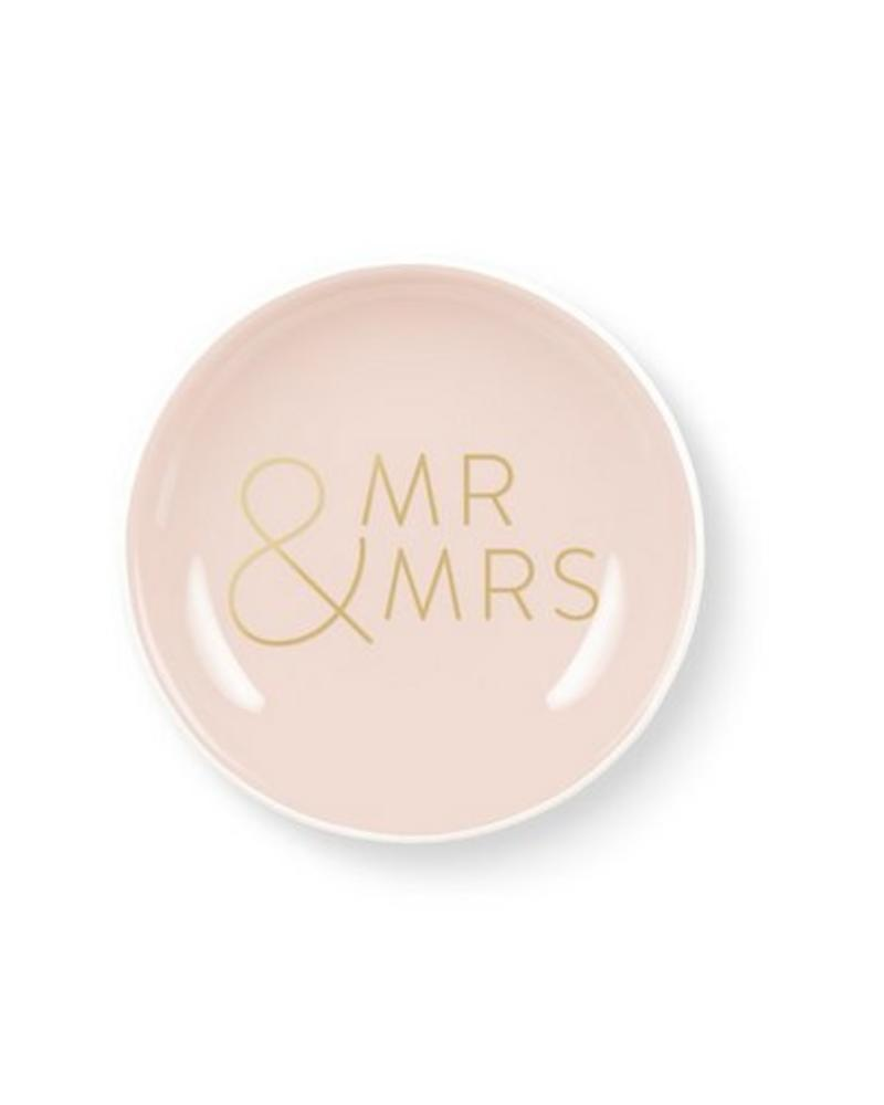 fringe studio fringe mr & mrs mini tray