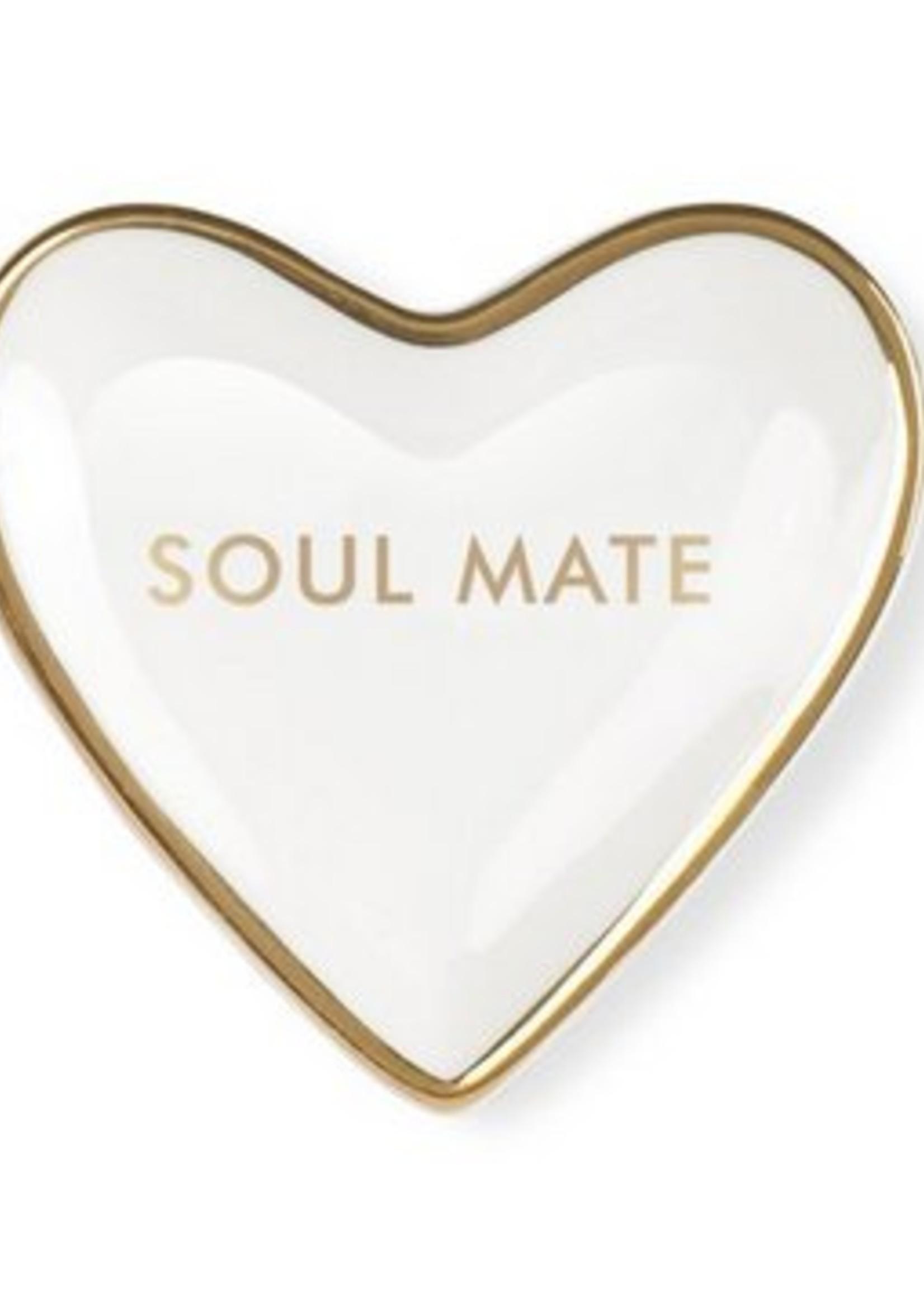 fringe studio fringe soul mate mini heart tray