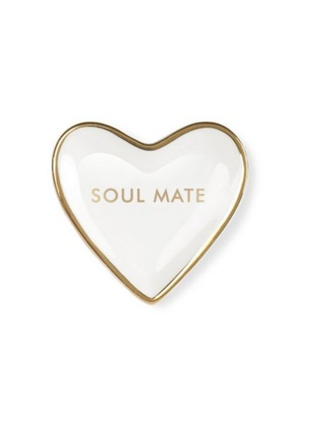 fringe studio soul mate mini heart tray