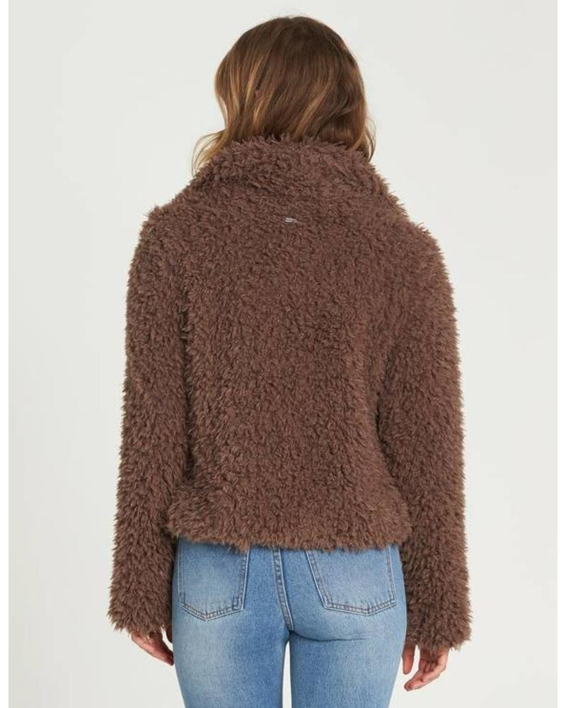 billabong billabong fur keeps jacket