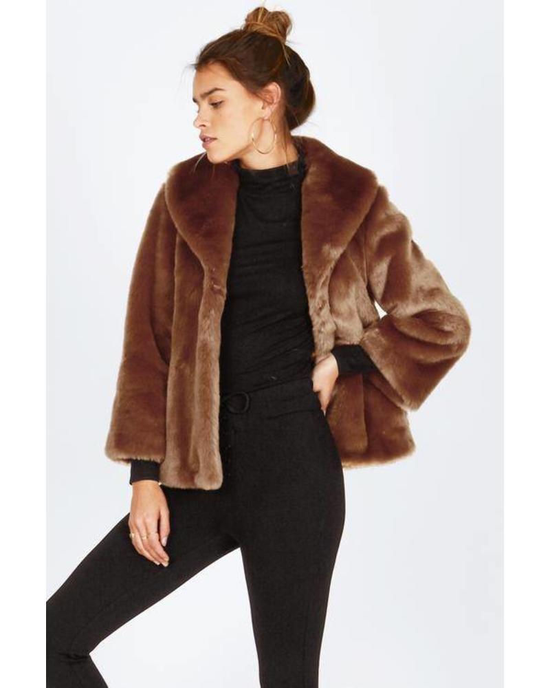 amuse society amuse society fur ever mine jacket
