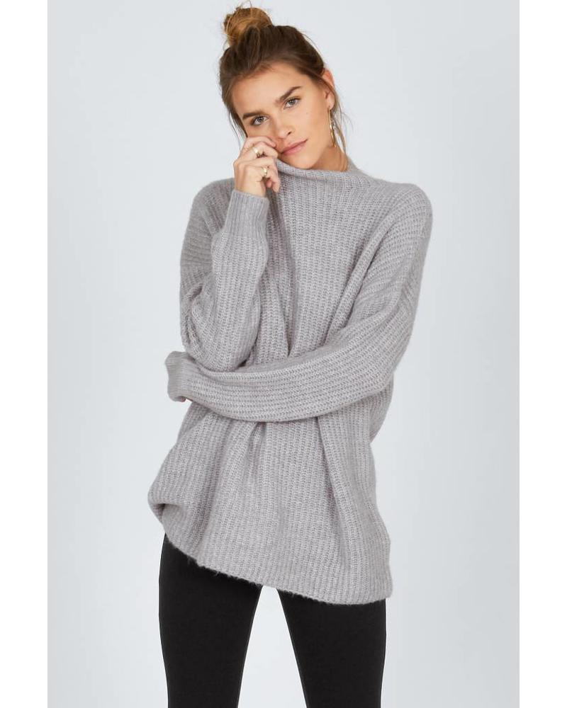 amuse society amuse society lets snuggle sweater