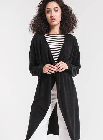 z supply soft-spun layering cardigan