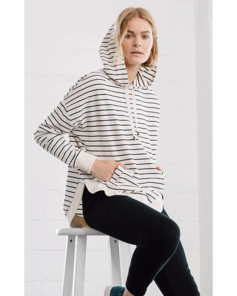 z supply z supply striped dakota pullover