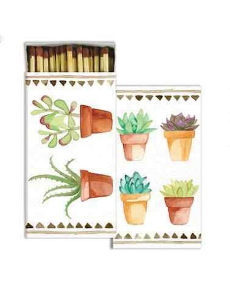 homart watercolor succulent matches