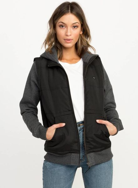 RVCA eternal fleece jacket