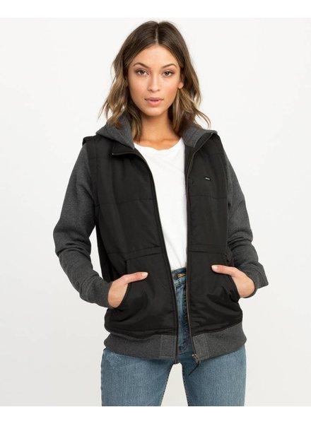RVCA eternal fleece jacket