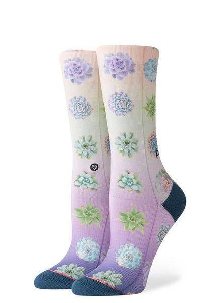 stance plant lady crew socks