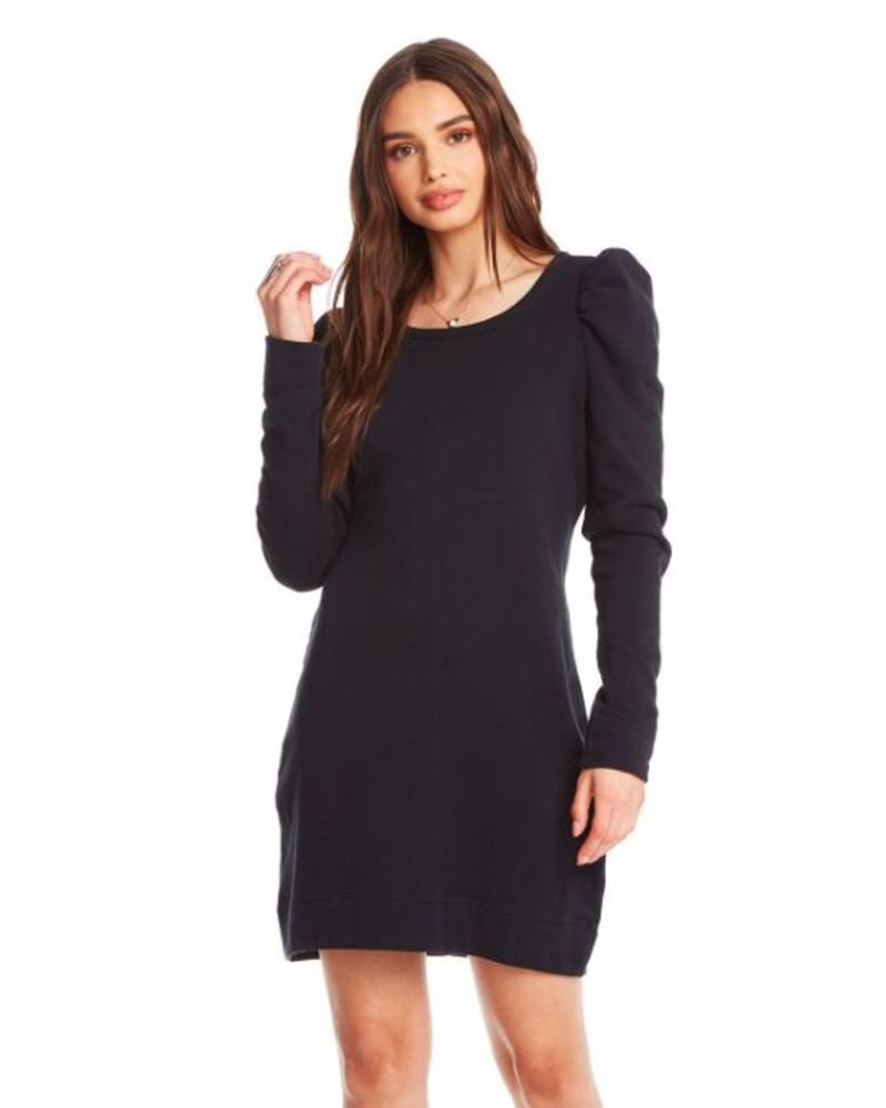 chaser cotton puff sleeve dress