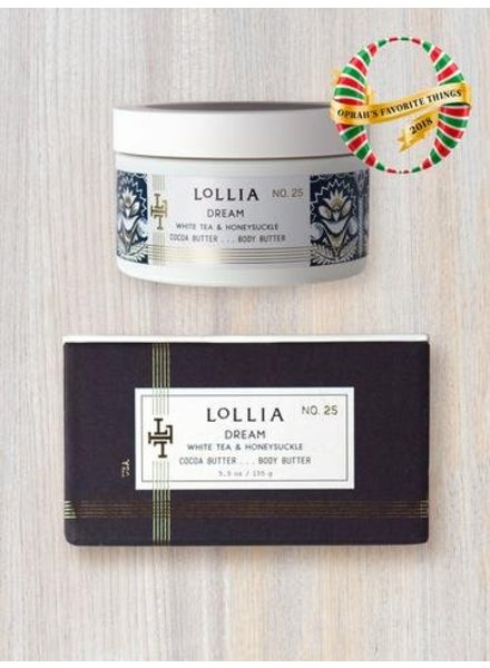 lollia dream whipped body butter