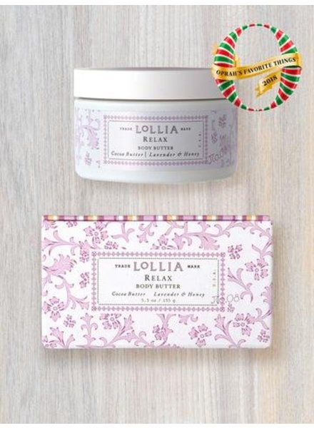 lollia relax whipped body butter