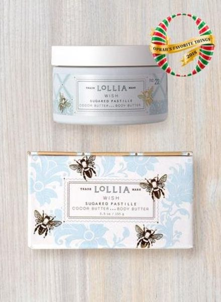 lollia wish whipped body butter