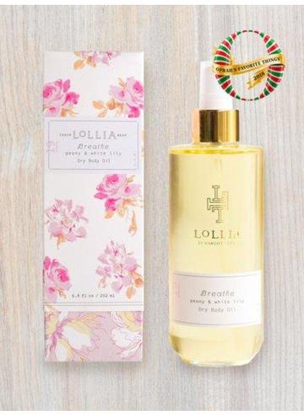 lollia breathe dry body oil