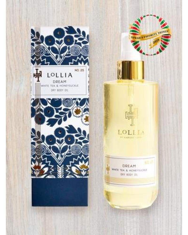 lollia lollia dream dry body oil