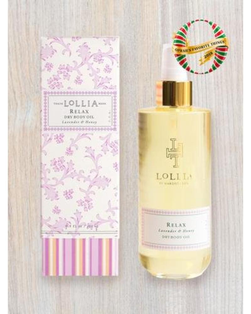 lollia lollia relax dry body oil