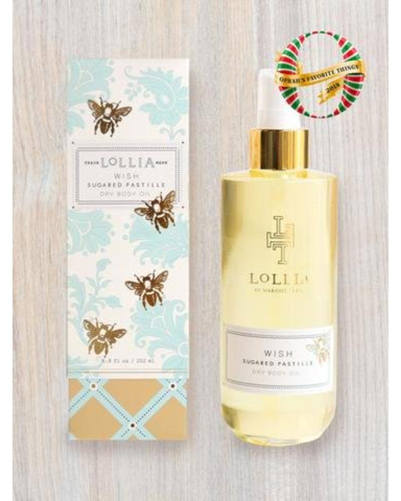 lollia lollia wish dry body oil