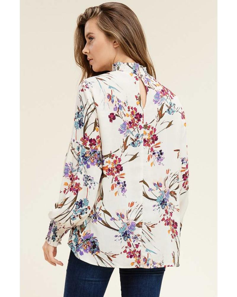 staccato reina blouse