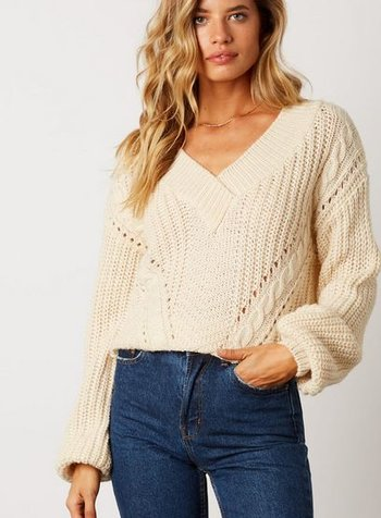 cotton candy jenny sweater