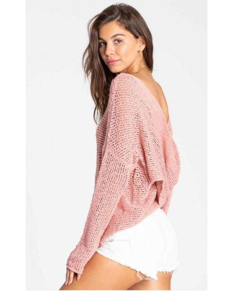 billabong billabong after glow sweater