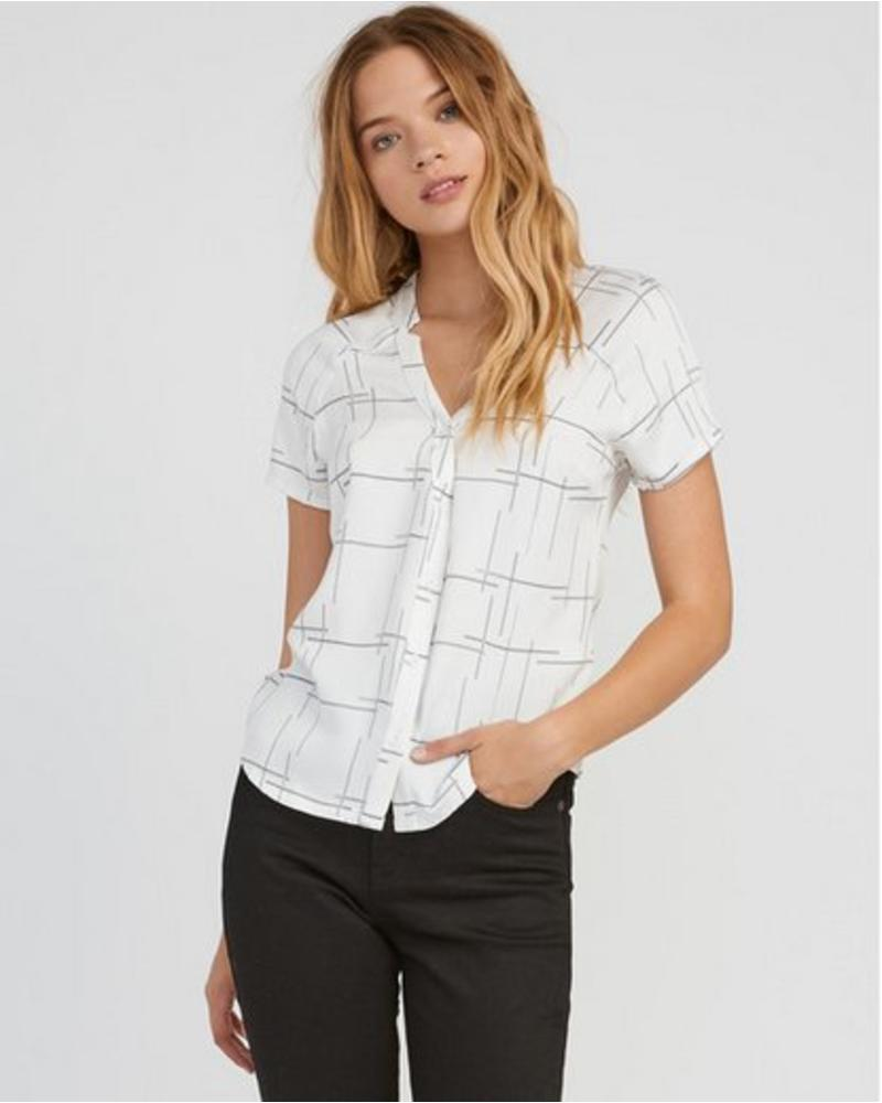 RVCA rvca quota button up top