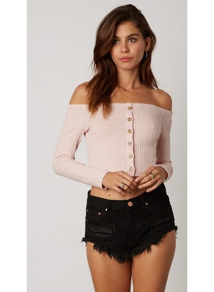 cotton candy delia top