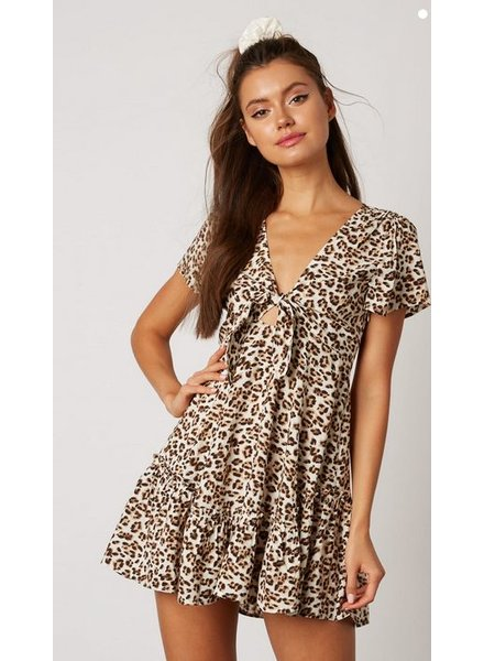 cotton candy fawn dress