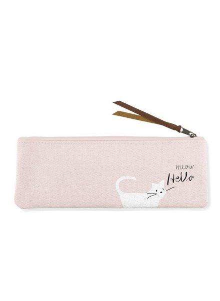 fringe studio whisker cat meow pouch