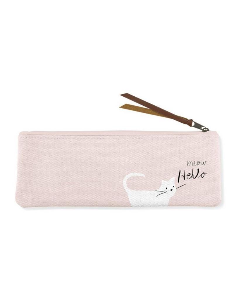 fringe studio fringe whisker cat meow pouch