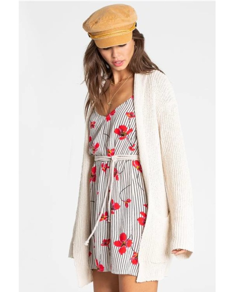 billabong billabong morning glow cardigan