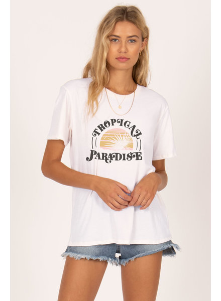 amuse society tropical paradise tee