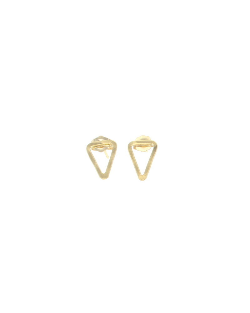 lotus jewelry studio lotus triangle bauble earrings